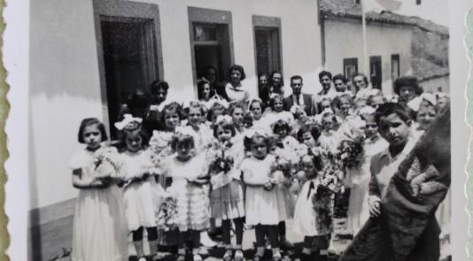 1954 Coroação do Espirito Santo na Vila do Nordeste_A FOTO PODE LEVAR LEGENDA