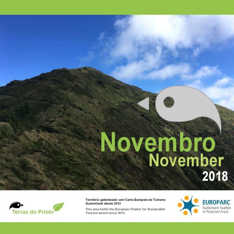 Agenda Terras do Priolo Novembro