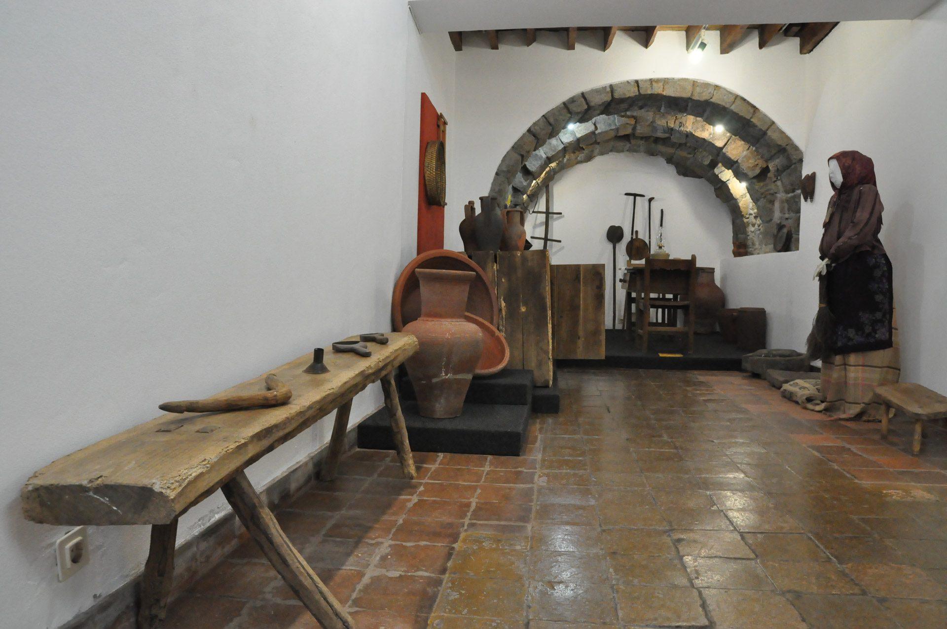Cozinha tradicional e vida doméstica