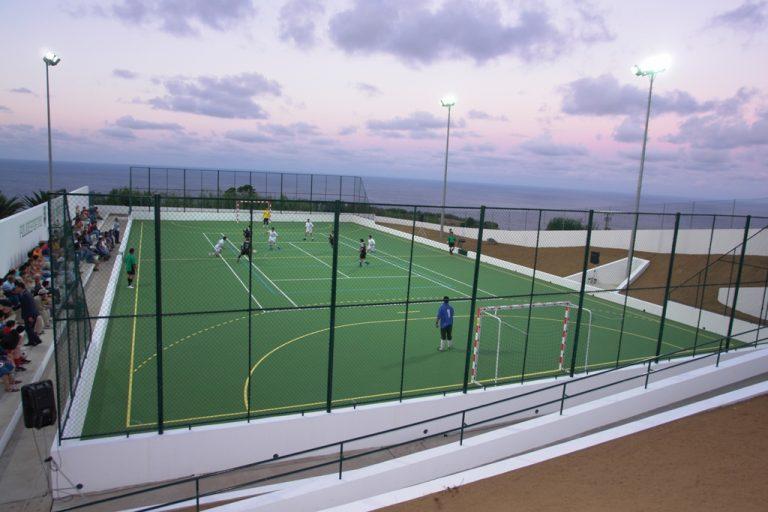 Complexo Desportivo Municipal - Campo de Futsal, Basquetebol, Voleibol e Ténis - Vila