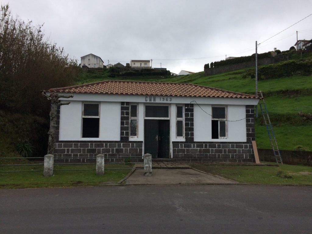 Beneficiação de sede da Junta de Freguesia de Santana (edificio da F. Grande) 2