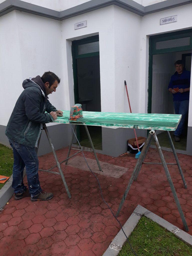 Beneficiação dos sanitários públicos - freguesia da Salga