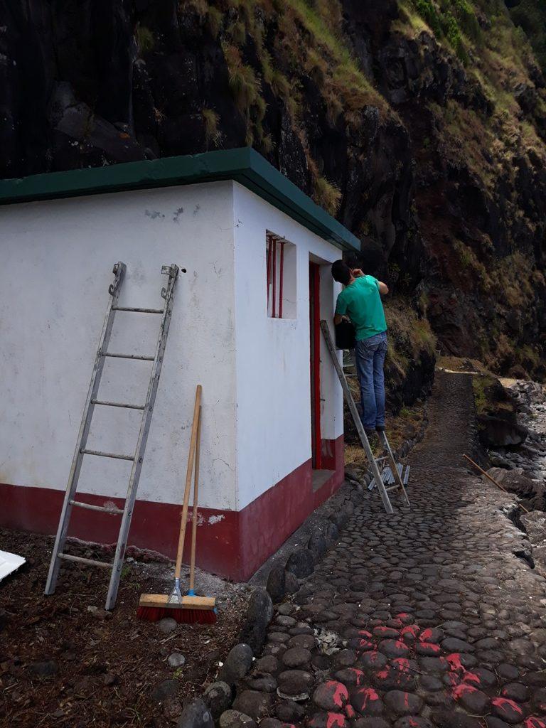 Limpeza e beneficiação da Praia do Lombo Gordo (3)