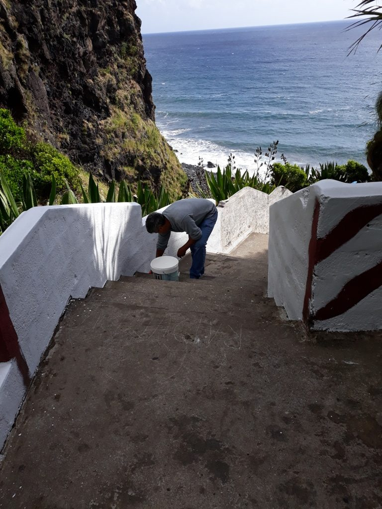 Limpeza e beneficiação da Praia do Lombo Gordo
