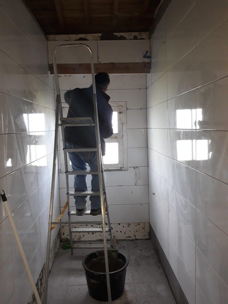 Reparação dos sanitários da antiga Escola de S. Pedro
