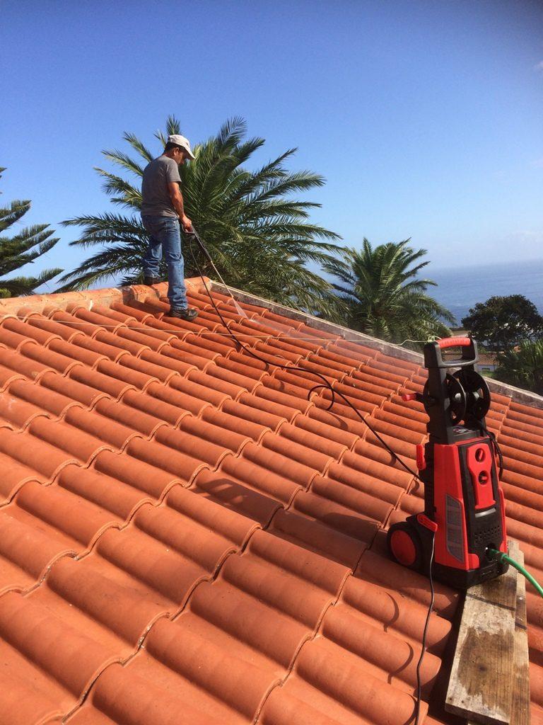 Reparação do telhado do Restaurante Tronqueira (2)