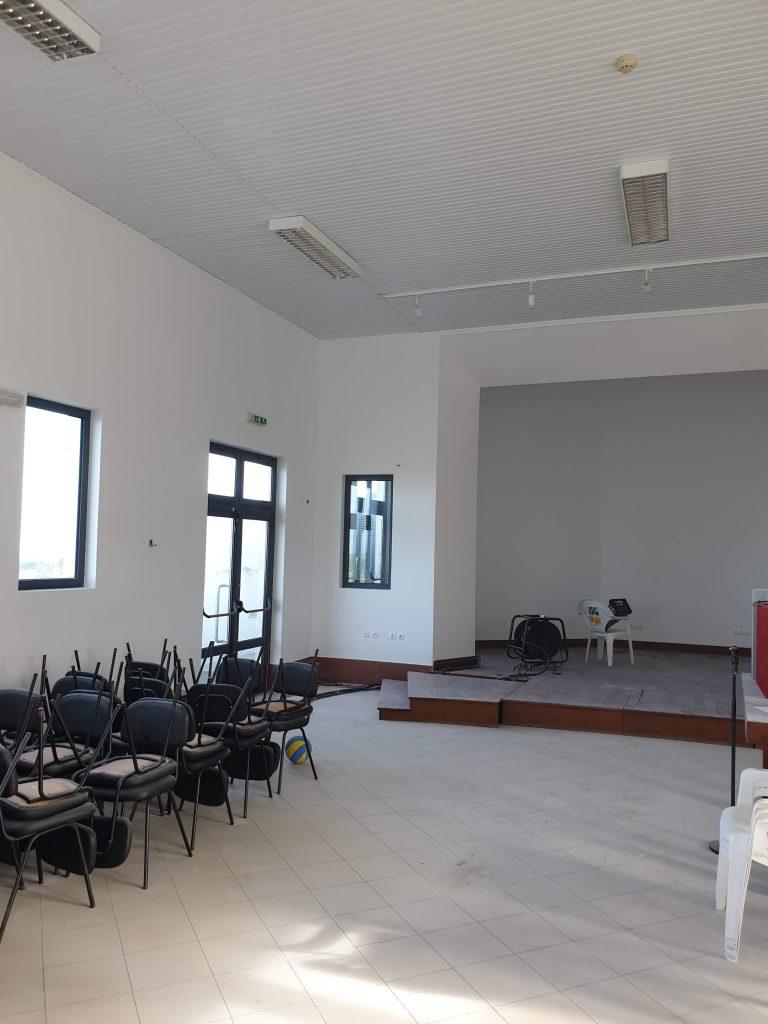 Beneficiação do Centro de Atividades Culturais e Recreativas da Salga (3)