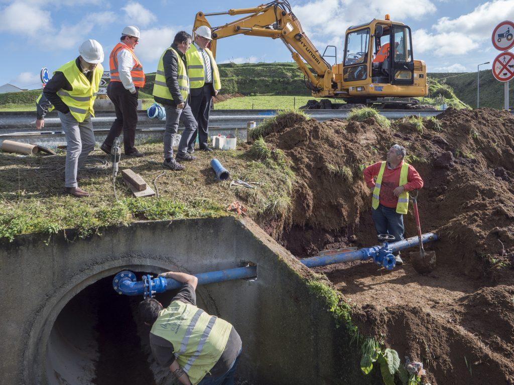 abastecimento de água freguesias