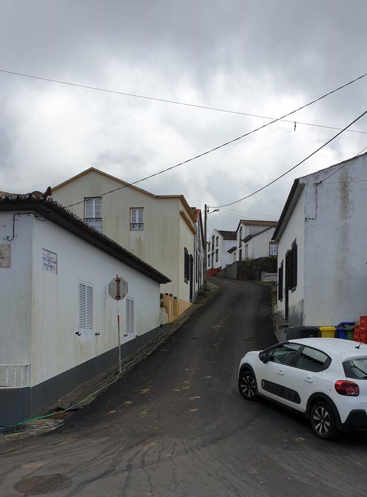 Pavimentações - freguesia de S. Pedro de Nordestinho