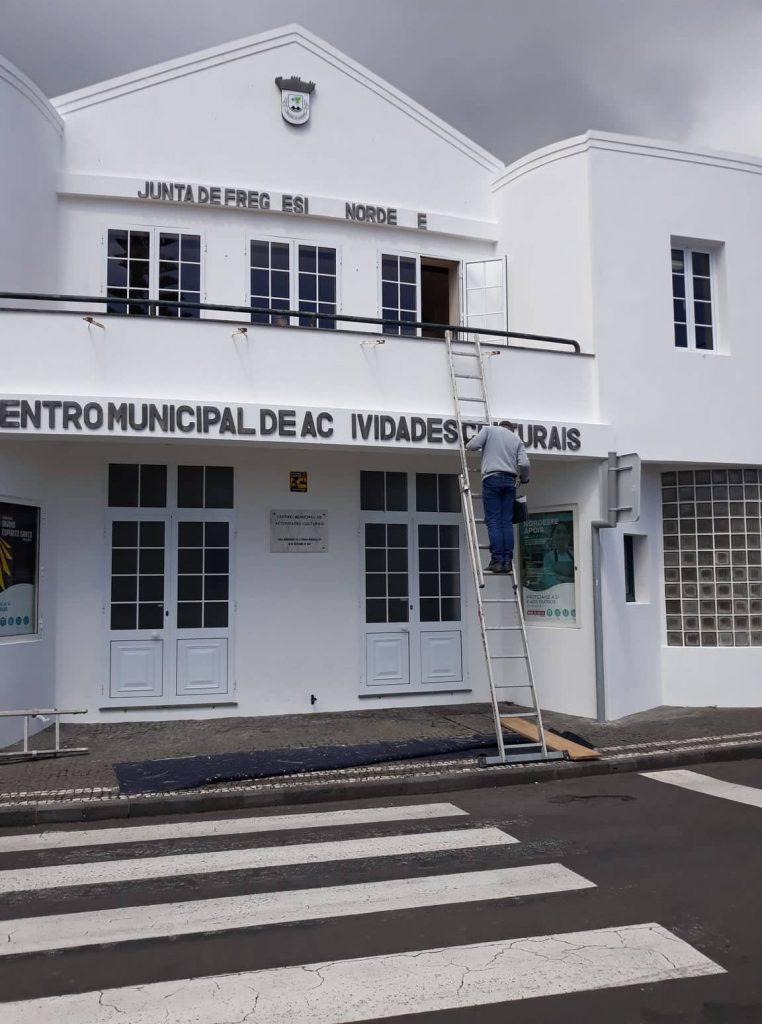 Limpeza e pintura do património - Centro Municipal de Actividades Culturais (2)