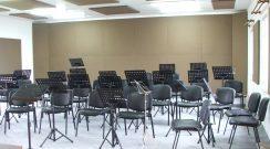 Melhoria da acústica da sede da Filarmónica Estrela do Oriente