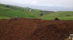 Reencaminhamento de águas no Pico dos Fetos, freguesia de São Pedro de Nordestinho