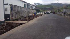 Reabilitação de passeios da Rua D. David Dias Pimentel, freguesia da Algarvia