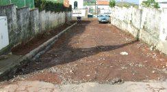 Repavimentação da Travessa da Rua Nova na Salga