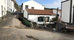 Reparação de Infiltração na Rua Debaixo na Vila do Nordeste