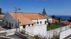 Substituição da cobertura da sede do União Desportiva de Nordeste