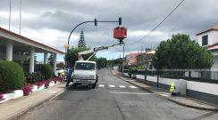 Colocação de semáforos junto à Escola Básica e Secundária de Nordeste