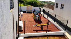 Conclusão da reabilitação do Parque Infantil da Feteira Grande - Santana