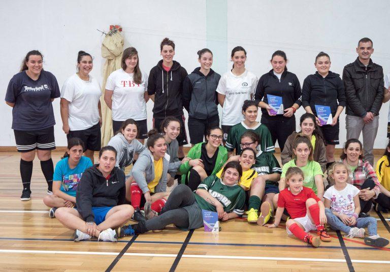 Futsal feminino ganha simpatizantes