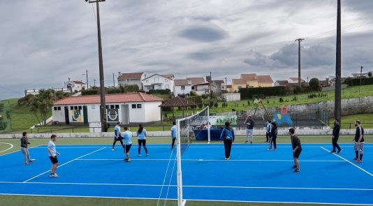 I Torneio de Voleibol é realizado na freguesia da Algarvia