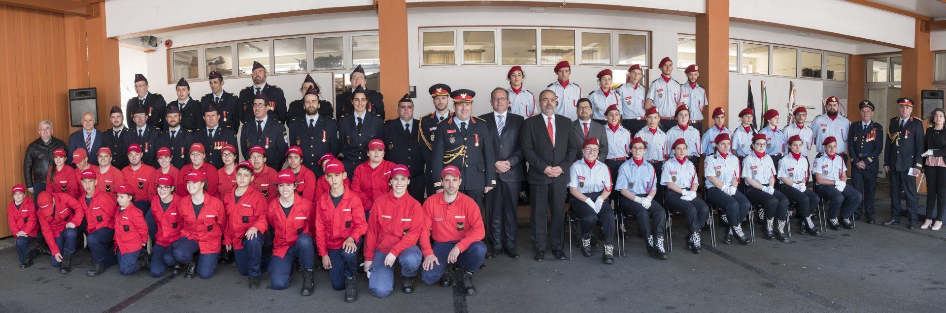 39º aniversário dos Bombeiros Voluntários do Nordeste