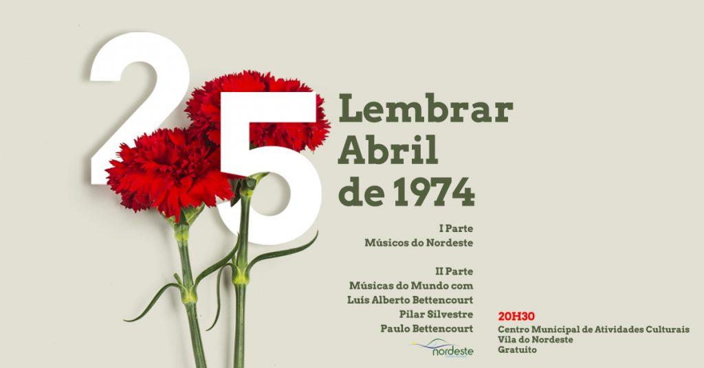 Nordeste comemora Abril com Músicas do Mundo
