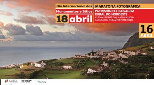 Maratona fotográfica a 16 de abril no Nordeste