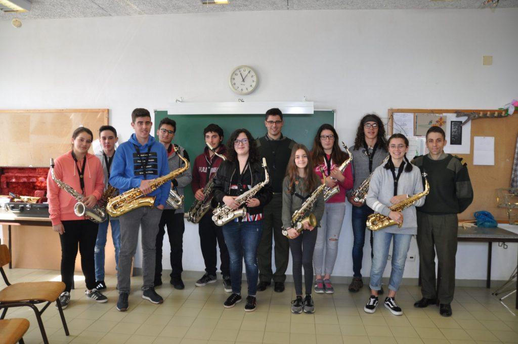 Músicos do Nordeste em formação nas férias da Páscoa