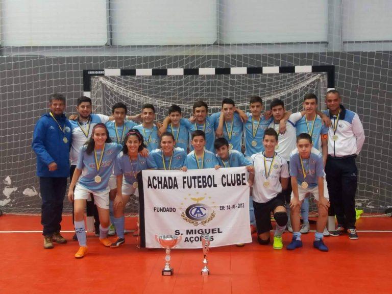 Achada Futebol Clube novamente campeão!