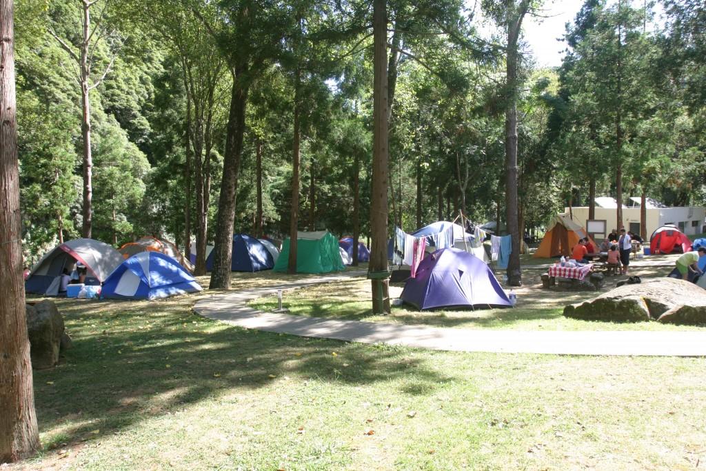Fairground Camping