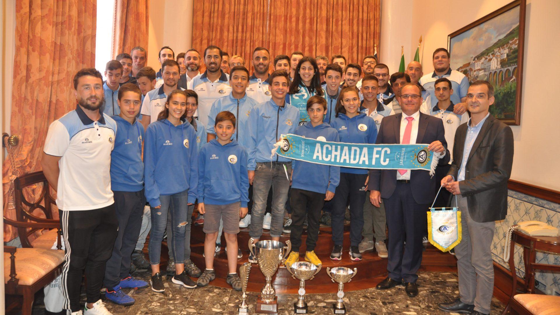 Câmara felicita o Achada
