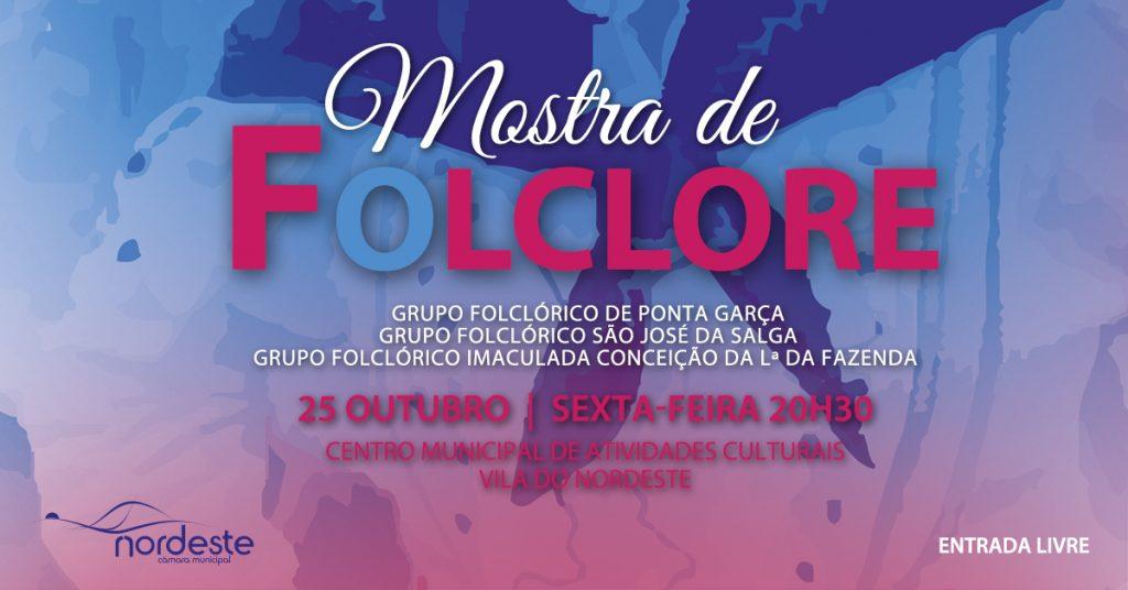 Mostra de folclore na Vila do Nordeste
