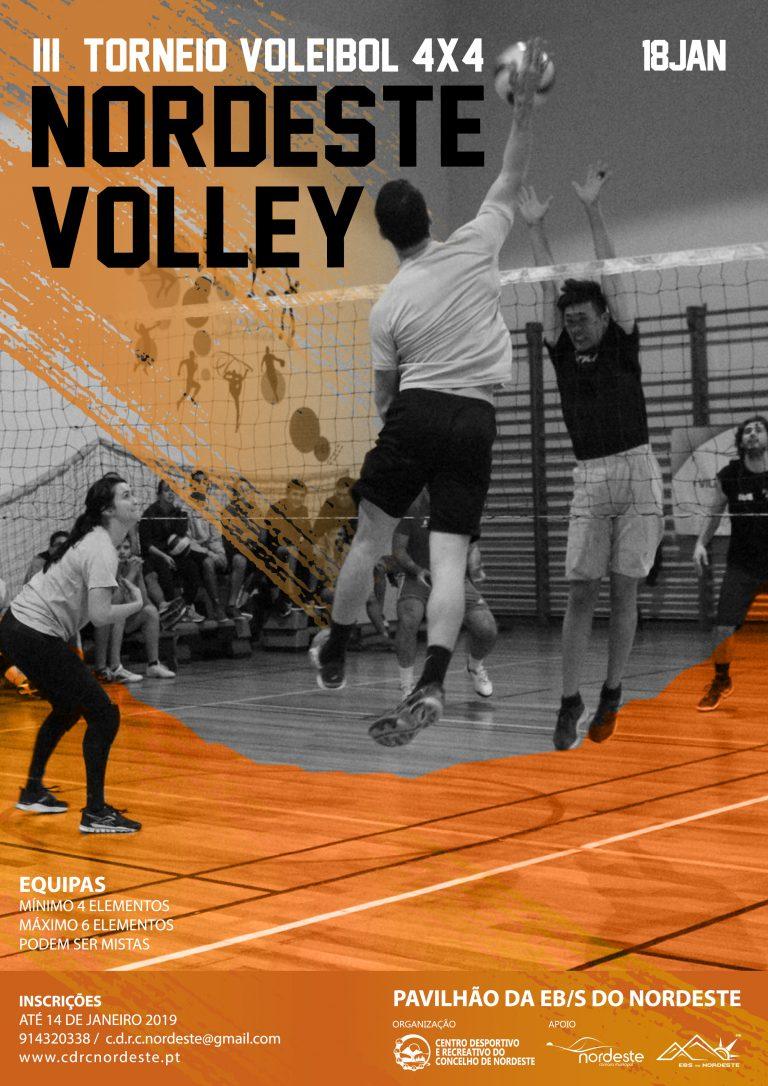 III Torneio Voleibol 4x4