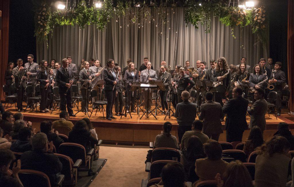 Concerto da Banda Militar dos Açores a 17 de janeiro