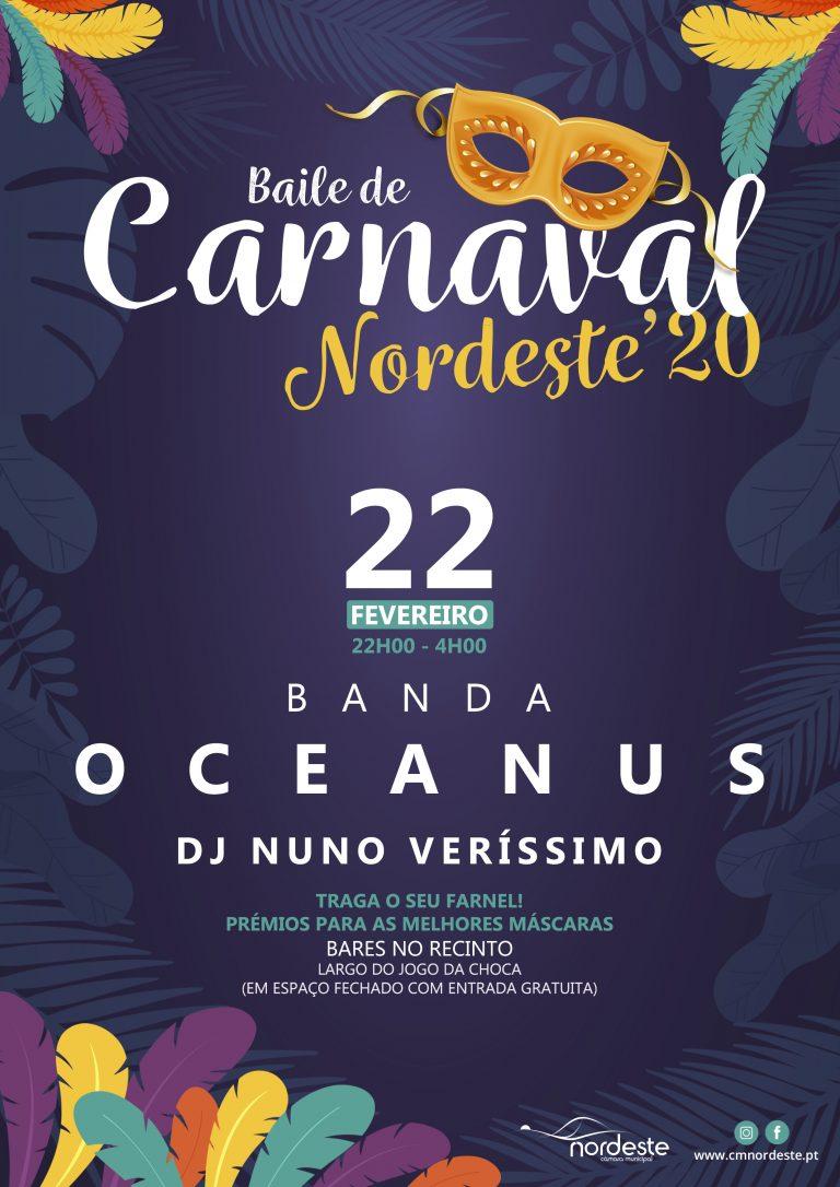 Baile de Carnaval Nordeste'20