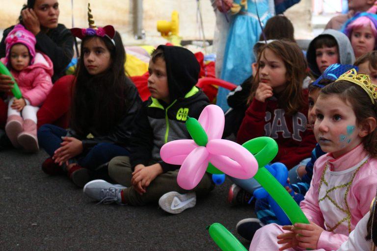 Tarde de Carnaval para as crianças