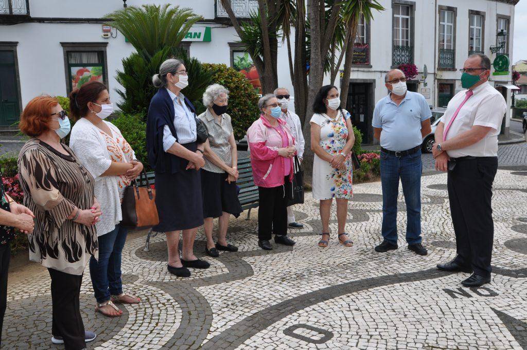 Seniores da freguesia de São Sebastião solidários com o Nordeste