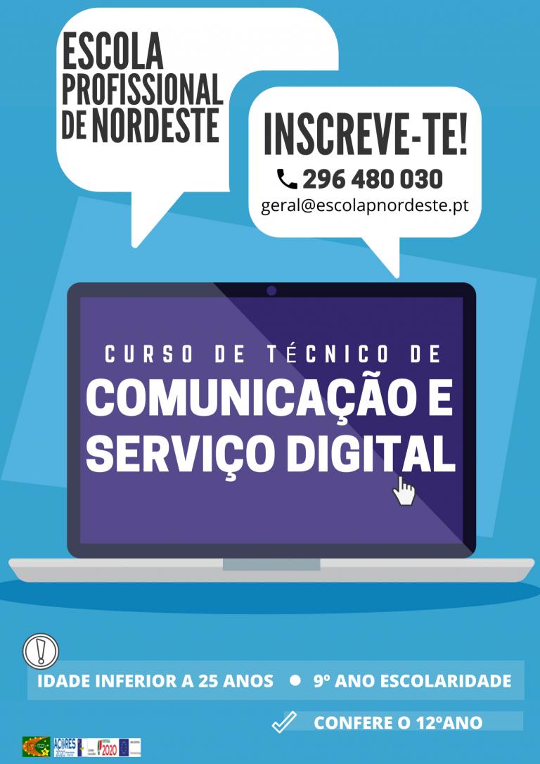 Oferta Formativa Escola Profissional Nordeste 2020-2021