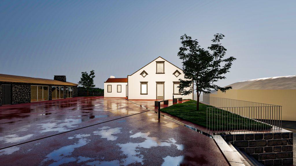 Reabilitação do centro urbano da freguesia de Santana