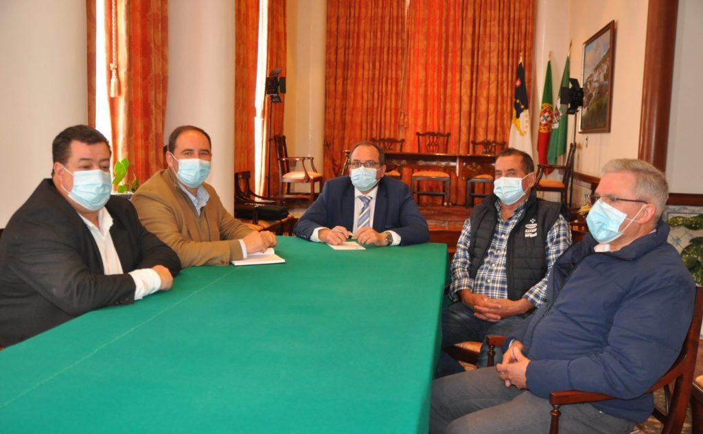 António Miguel Soares recebe presidente do IROA