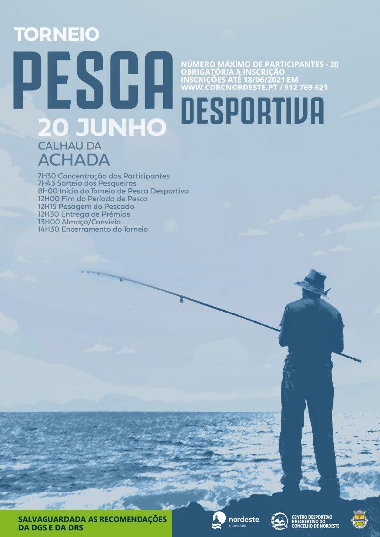 Torneio de Pesca no Calhau da Achada