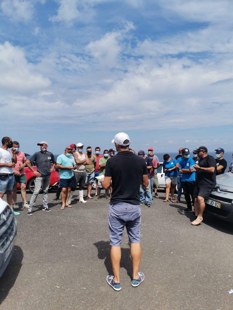 Torneio de pesca de calhau estende-se à Lomba da Fazenda